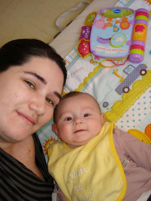 Moi et ma nièce chérie