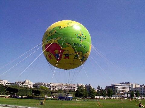 Le ballon Fortis (maintenant Eutelsat)
