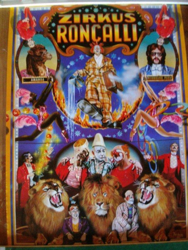 Affiche RONCALLI de 1975