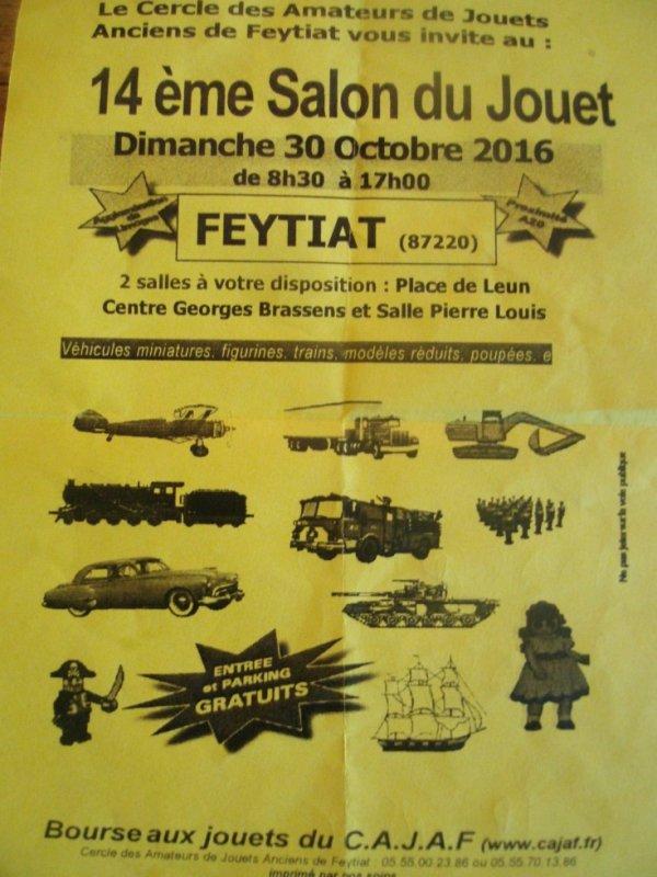 BOURSE DES JOUETS A FEYTIA 87