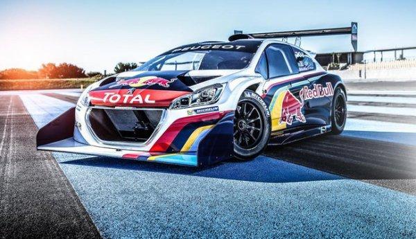 Loeb impressionné par la Peugeot 208 T16