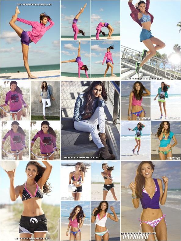 . •۰Miss Nina Dobrev ~ a posé pour Dazzle Fashion et pour Vogue Chine ! Ton avis sur ces photoshoots _____ .