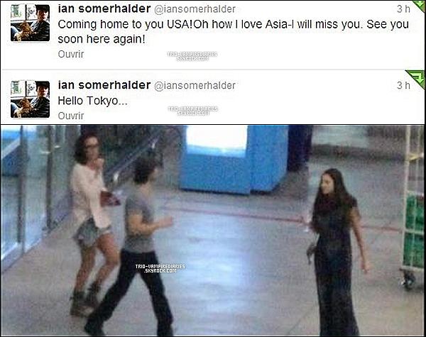 Date inconnu - Voici d'autres phots de Nina et Ian à Shanghai.___(a. correspondant)