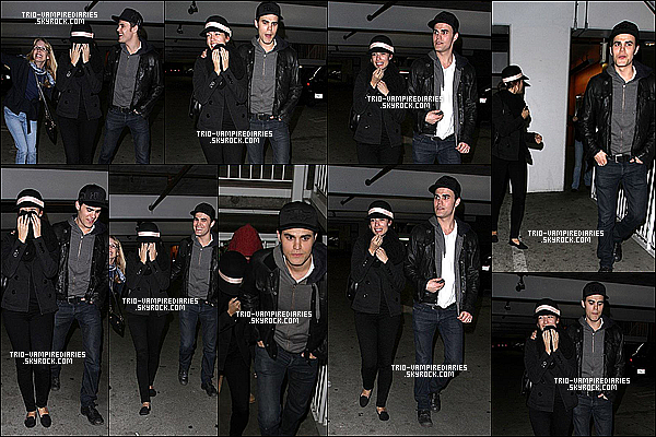 """26/12/12 - Paul et Torrey (ainsi que sa mère) sont allés voir """"Les misérables"""" au cinéma."""