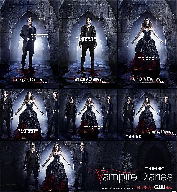 Voici de nouvelles photos promos de nos vampires pour la saison 4 de The Vampire Diaries !