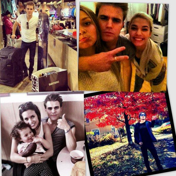 De nouvelles photos de Paul sont apparues sur Twitter, la première quand il a acheté du matériel de snowboard, l'autre avec ses soeurs, une quand il a ramassé des galn et la dernière avec Torrey une petite fille. Ne sont-ils pas mignons ?