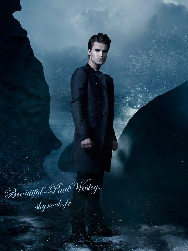 24/11/12 Voici la nouvelle photo promotionnelle de Paul seul cet fois pour la saison 4 de Vampire Diaries. Commen tu l'as trouve toi ?
