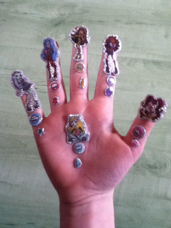 Les monster high je les connais sur les bouts des doigts