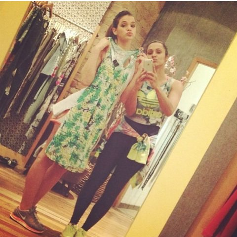 Thaissa Carvalho et Bruna Marquezine