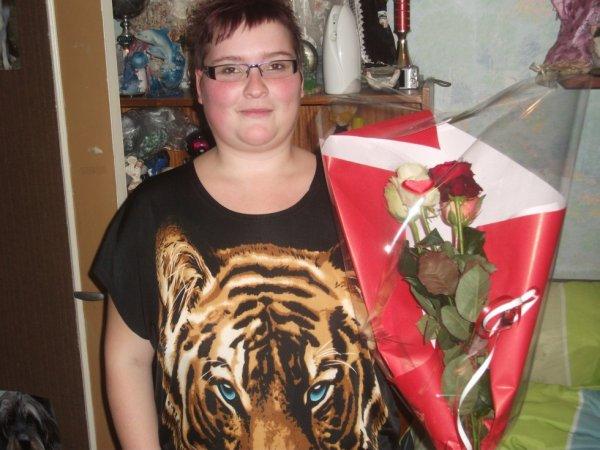 rose que mon cheri ma offre pr la st valentin