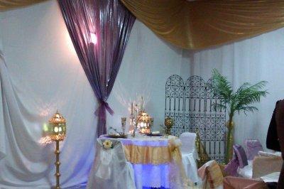 le coin des mariés ..
