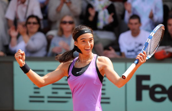 Roland Garros 2011 - Caroline Garcia vs Zuzana Ondraskova