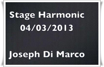 Vidéo : Laura au stage de Joseph Di Marco le 04 Mars 2013