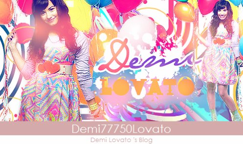 Welcome In The Demi77750Lovato 's Blog ♥