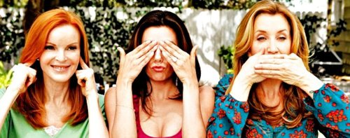 """Desperate Housewives fait la couverture du magazine """"TV Guide""""."""