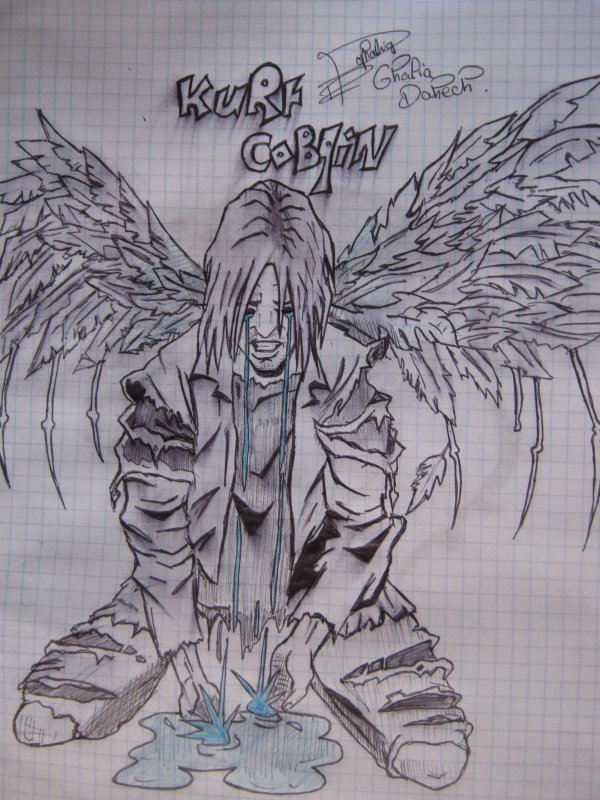 Kurt Cobain (L)