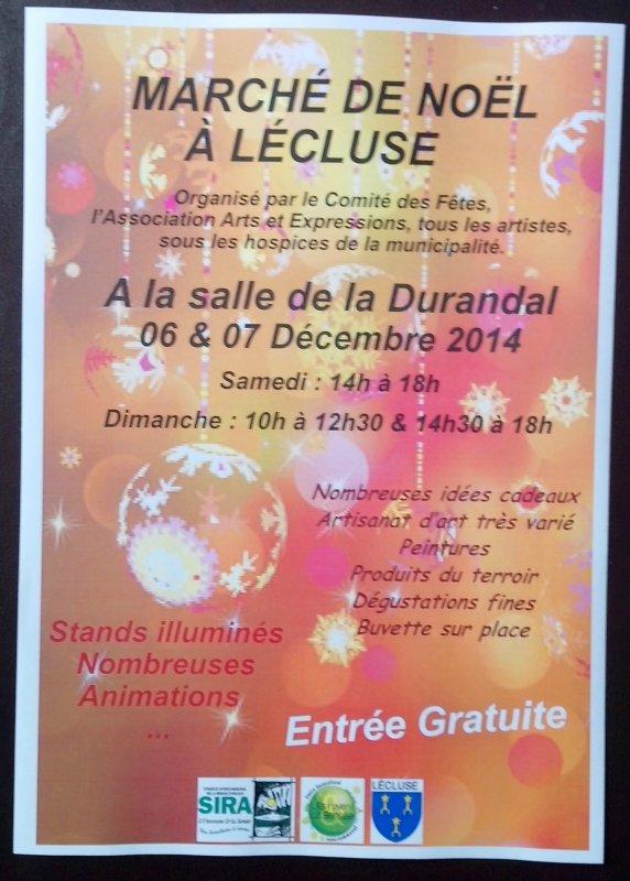 Marché de Noël LECLUSE 59259