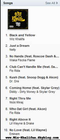 """Black and Yellow"" Hits #1 sur  iTunes"