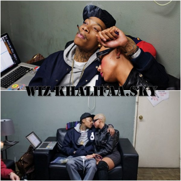 Wiz Khalifa & Amber ROSE !