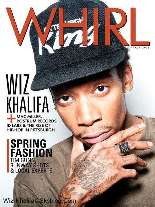 Wiz Khalifa - Coverture de  'Whirl'