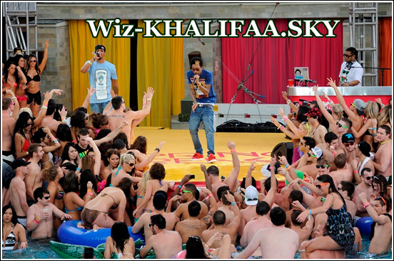 WIZ KHALIFA  PERFORMS ON MTV SPRING BREAK