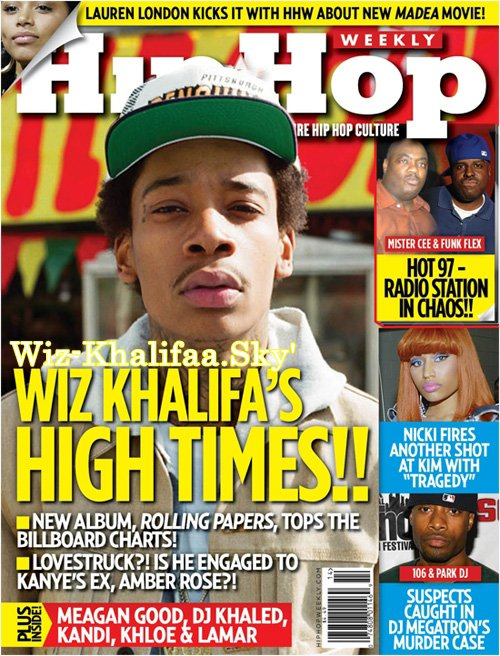 Wiz Khalifa Covers Hip-Hop Weekly
