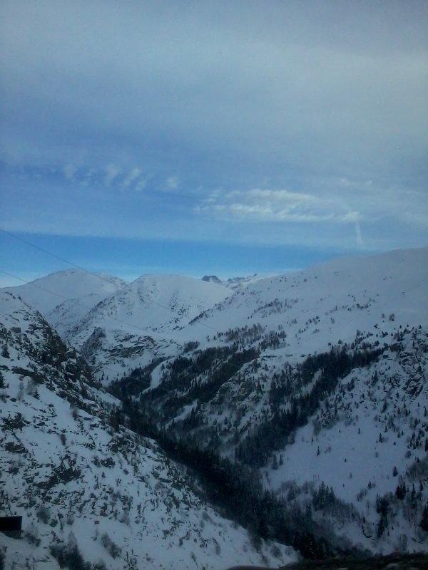 que la montagne est belle ...