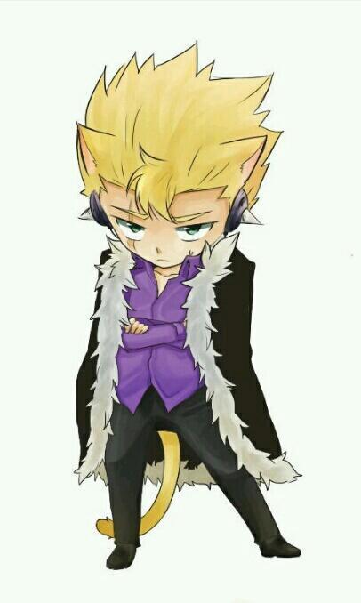 Fairy Tail en chat !