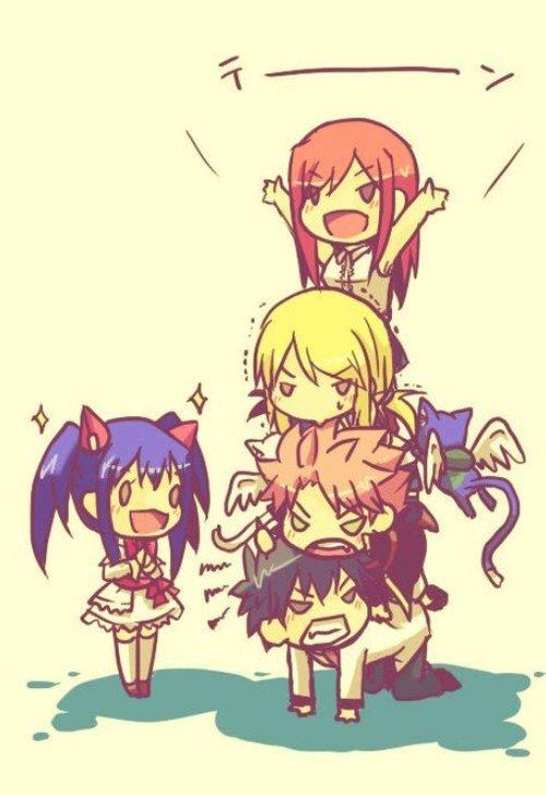 Petites images de Fairy Tail et Pandora Hearts !