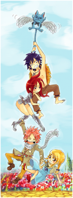 Images fairy tail kawaii !