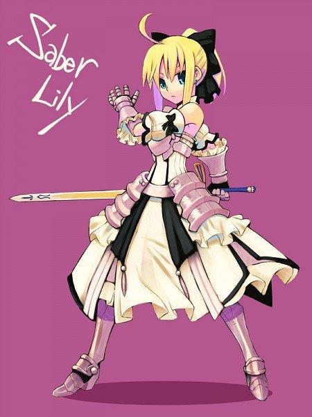 Projets ! Et images : Saber Lily !