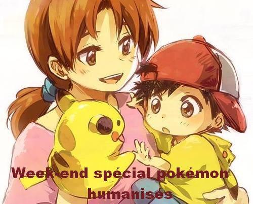 Week-end spécial pokémon humanisés ! Partie 3 !