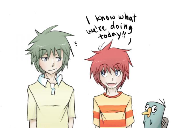 Un dessin-animé en mode manga !