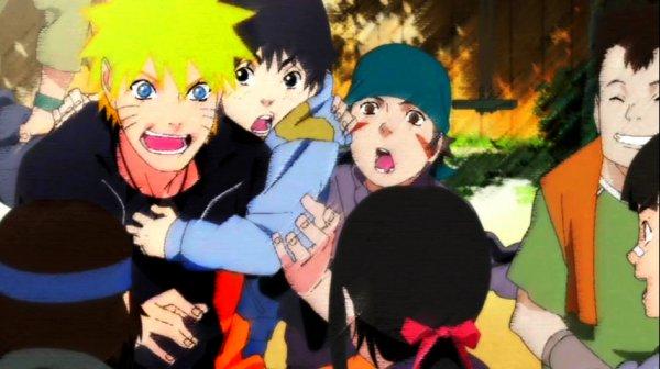 « Et de l'union de l'éclair jaune de Konoha et de Habanero, la sanguinaire... - EST NÉ LE HOKAGE ORANGE !! » Kushina U. & Naruto U.
