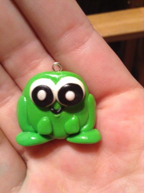 Une grenouille ! Croa croa !!