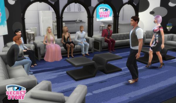 Secret Story Sims S1 - Prime 1 - Partie 9