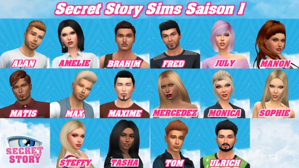 Secret Story Sims S1 - Qui sont vos habitants préférés (Semaine 1) ?