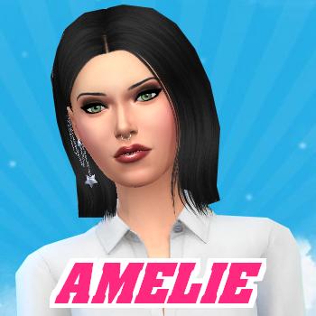 Secret Story Sims S1 - Portrait d'Amélie