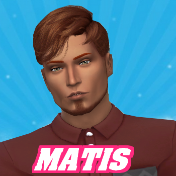 Secret Story Sims S1 - Portrait de Matis & Tom