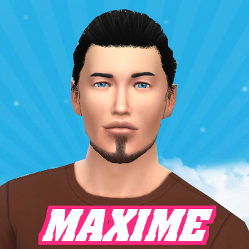 Secret Story Sims S1 - Portrait de Maxime