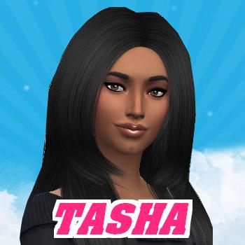 Secret Story Sims S1 - Portrait de Tasha