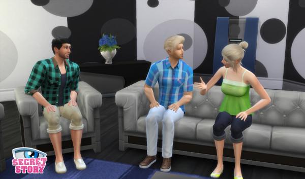 Secret Story Sims S1 - Quotidienne 3 - Partie 1