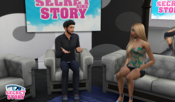Secret Story Sims S1 - Quotidienne 3 - Partie 1
