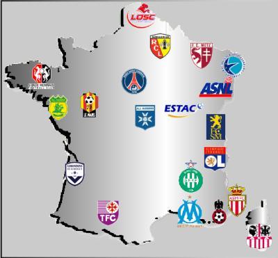 Equipe pr f r de ligue 1 le lotofoot de difool - Classement de coupe de france ...