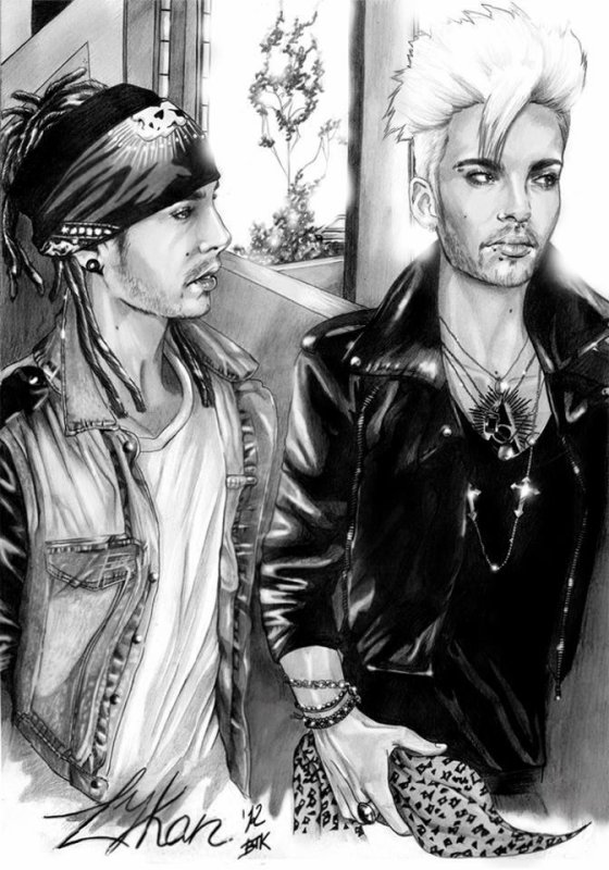 FANART: Bill & Tom By LYKAN.