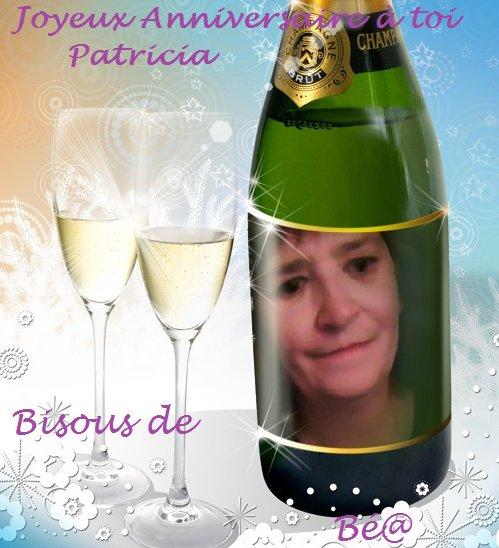 .........................................Un bon @nniversaire à toi Patricia................................