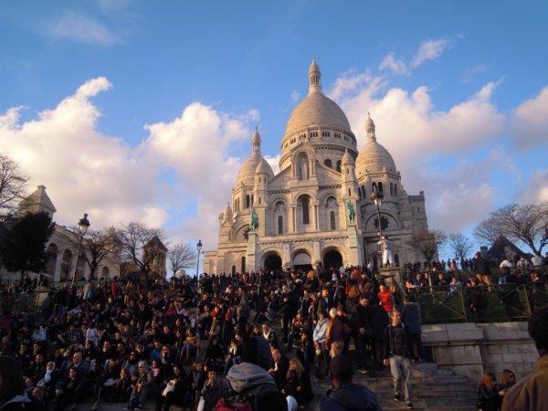La Basilique du Sacré-C½ur de Montmartre, Paris 2013