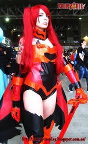 cosplay Erza armure de l'impératrice du feu