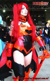 cosplay Erza Scarlet