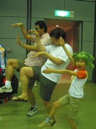 Cosplay Yotsuba&!(+son père, Jumbo, et Danbo)